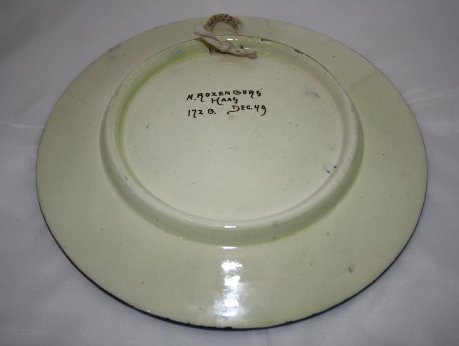 "<span class=""entry-title-primary"">Rozenburg plateel bord</span> <span class=""entry-subtitle"">Ca. 1920-1925</span>"
